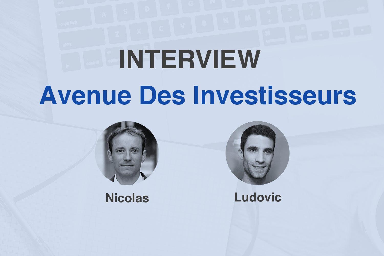 Avenuedesinvestisseurs avenue des investisseurs Nicolas DECAUDAIN Ludovic CHAPUT